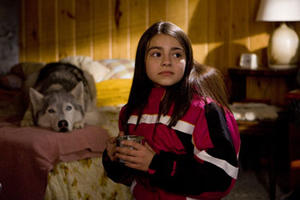 """Ariel Gade and Buck in """"Call of the Wild 3D."""""""